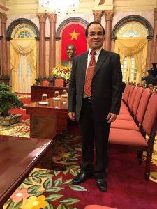 ông Nguyễn Đặng Hiến - TGĐ công ty Tân Quang Minh