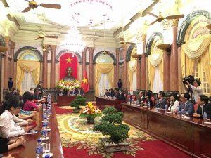 chủ tịch nước tham dự hội nghị