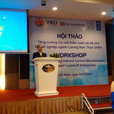 Ông Nguyễn Đặng Hiến - Phó Chủ tịch Hội Lương thực Thực phẩm TpHCM