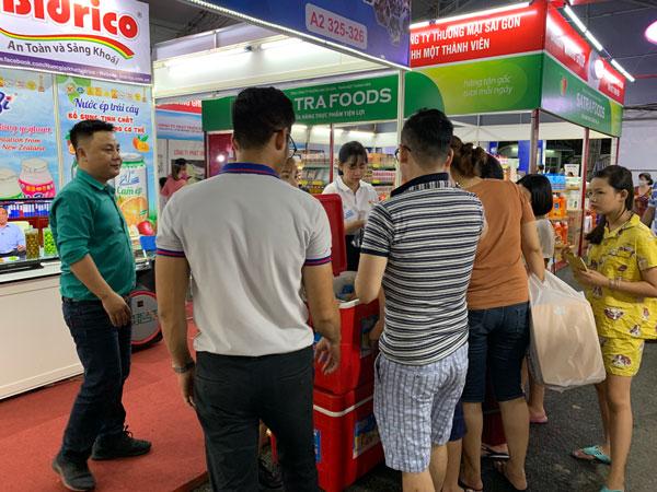 Bidrico tham dự hội chợ khuyến mại 2020